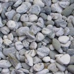 Coloured Pebbles Marble Grey
